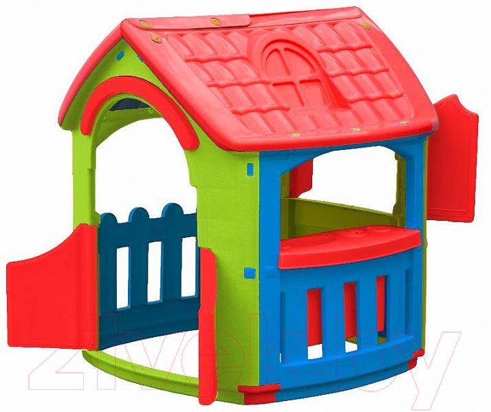 Купить Домик PalPlay, Кухня 663 (голубой/зеленый/красный), Израиль, пластик
