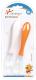Ложки для кормления Sun Delight С мягким окончанием / 33037 (2шт, оранжевый/белый) -