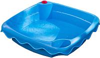 Песочница-бассейн PalPlay Волна 678 с креплением шланга (голубой) -