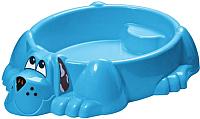 Песочница-бассейн PalPlay Собачка 373 (голубой) -