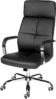 Кресло офисное Norden Alex / H-3021 (экокожа черный) -