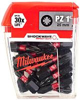 Набор бит Milwaukee Shockwave Impact Duty 4932430861 -
