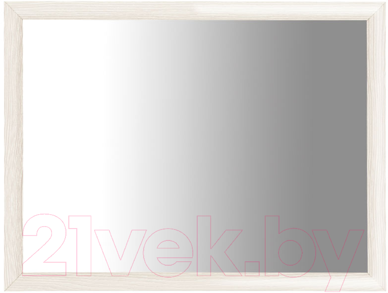 Купить Зеркало интерьерное Black Red White, Коен LUS/103 (ясень снежный), Беларусь, дерево беленое