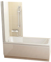 Стеклянная шторка для ванны Ravak CVS1-80 R (7QR40C00Z1) -