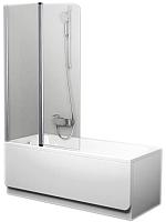 Стеклянная шторка для ванны Ravak CVS2-100 L (7QLA0100Z1) -