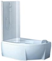 Стеклянная шторка для ванны Ravak CVSK1 Rosa 140/150 L (7QLM0C00Y1) -