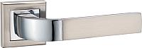 Ручка дверная Lockit Верона AL SN/PC / А1426Е8 -