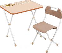 Комплект мебели с детским столом Ника КА2 Алина (бежевый) -
