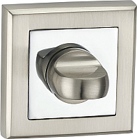 Фиксатор дверной защелки Lockit Квадратная E8 SN/PC -