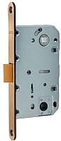 Защелка врезная с фиксацией Arni 410В PB квадратная (пластик) -