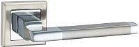 Ручка дверная Lockit Салерно AL SN/PC -