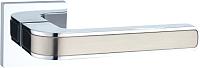 Ручка дверная Lockit Рико AL SN/PC / A1549Е -