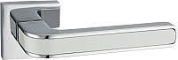 Ручка дверная Lockit Рико AL PC/White / A1549Е -