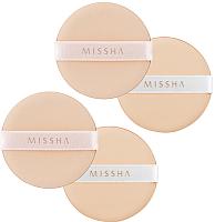 Набор спонжей для макияжа Missha Tension Pact Puff Fitting (4шт) -