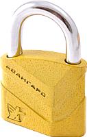 Замок навесной Аллюр Авангард ВС2Д-50 диско (желтый) -