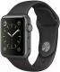Умные часы Apple Watch Series 1 38mm / MP022 (алюминий серый космос/черный) -