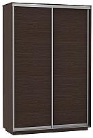 Шкаф Е1 ДД 120x220x60 (венге) -