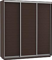 Шкаф Е1 ДДД 180x220x60 (венге) -