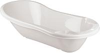 Ванночка детская Пластишка С клапаном для слива воды 431301316 (белый) -