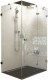 Душевой уголок Ravak Brilliant BSDPS-100x100 R (0UPA0A00Z1) -