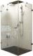 Душевой уголок Ravak Brilliant BSDPS-120/90 L (0ULG7A00Z1) -