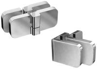 Крепления для душевой двери Ravak B Set BVS2-100 R / D01000A071 -