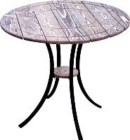 Стол садовый Timb Шале D84 (орех) -