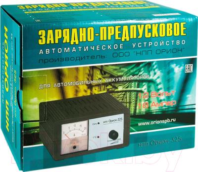 Зарядное устройство для аккумулятора Орион PW325
