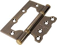 Петли дверные Rucetti RFH-100x75x2.5 AB -