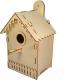 Сборная игрушка POLLY Домик для птиц -