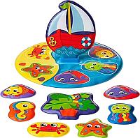 Игрушка для ванной Playgro Морское путешествие / 0186379 -
