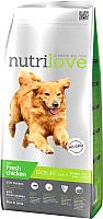 Корм для собак Nutrilove Mature Chicken (12кг) -