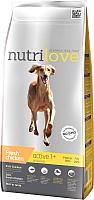 Корм для собак Nutrilove Active All Breeds Chicken (12кг) -