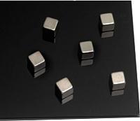 Набор магнитов 2x3 AM151 (6шт, серебристый) -