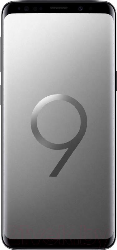 Купить Смартфон Samsung, Galaxy S9 Dual 64GB / G960F (серый), Китай