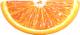 Надувной плот Intex Апельсиновая долька / 58763EU -