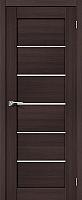 Дверь межкомнатная Portas S22 70x200 (орех шоколад) -