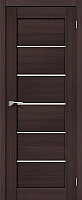 Дверь межкомнатная Portas S22 80x200 (орех шоколад) -