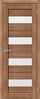 Дверь межкомнатная Portas S23 70x200 (орех карамель) -