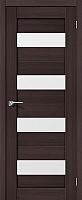 Дверь межкомнатная Portas S23 80x200 (орех шоколад) -