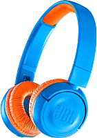 Наушники-гарнитура JBL JR300BT Uno (синий/оранжевый) -