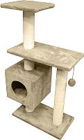 Комплекс для кошек Cat House Буран 1.06 (хлопок бежевый) -