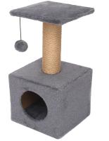 Комплекс для кошек Cat House 0.65 (джут серый) -