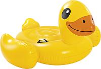 Надувная игрушка для плавания Intex Желтый утенок / 57556NP -