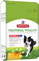 Корм для собак Hill's Science Plan Adult 7+ Youthful Vitality Medium Chicken & Rice (10кг) -