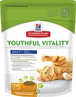 Корм для кошек Hill's Science Plan Adult 7+ Youthful Vitality Chicken & Rice (0.25кг) -