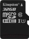 Карта памяти Kingston Canvas Select microSDHC CL10 UHS-I 32GB (SDCS/32GBSP) -
