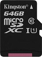 Карта памяти Kingston Canvas Select microSDXC CL10 UHS-I 64GB (SDCS/64GBSP) -