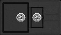 Мойка кухонная ZorG Eco 4 (черный) -