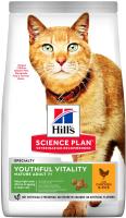 Корм для кошек Hill's Science Plan Adult 7+ Youthful Vitality Chicken & Rice (1.5кг) -